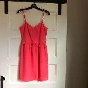 J. Crew Factory Coral Dress